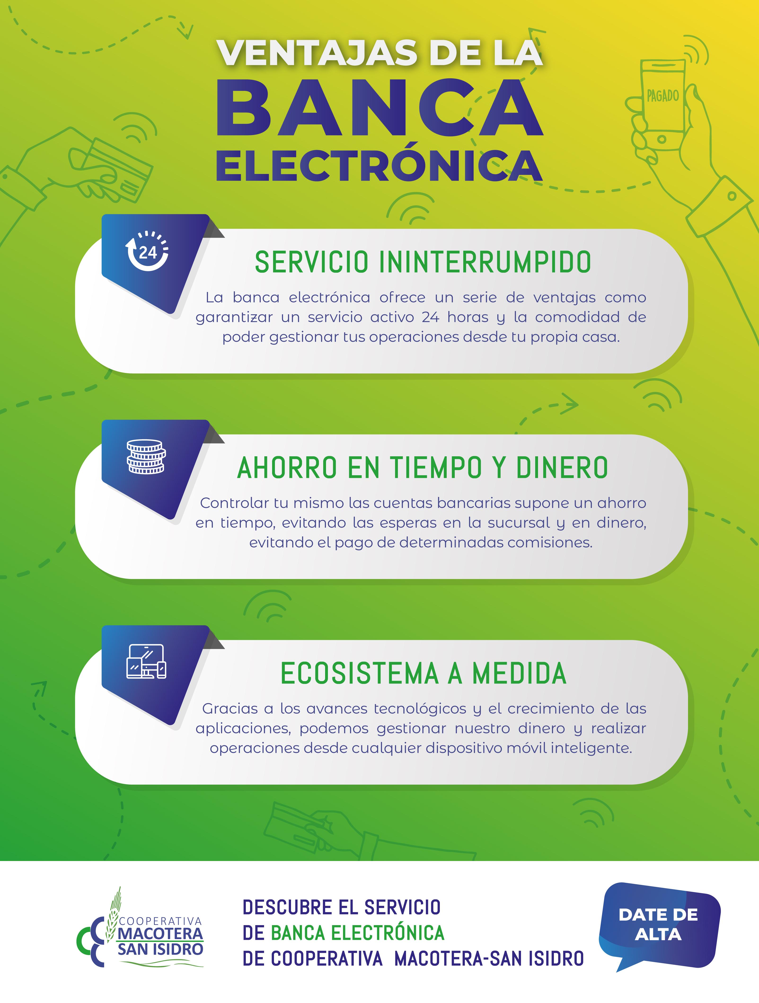 Ventajas de la banca electrónica