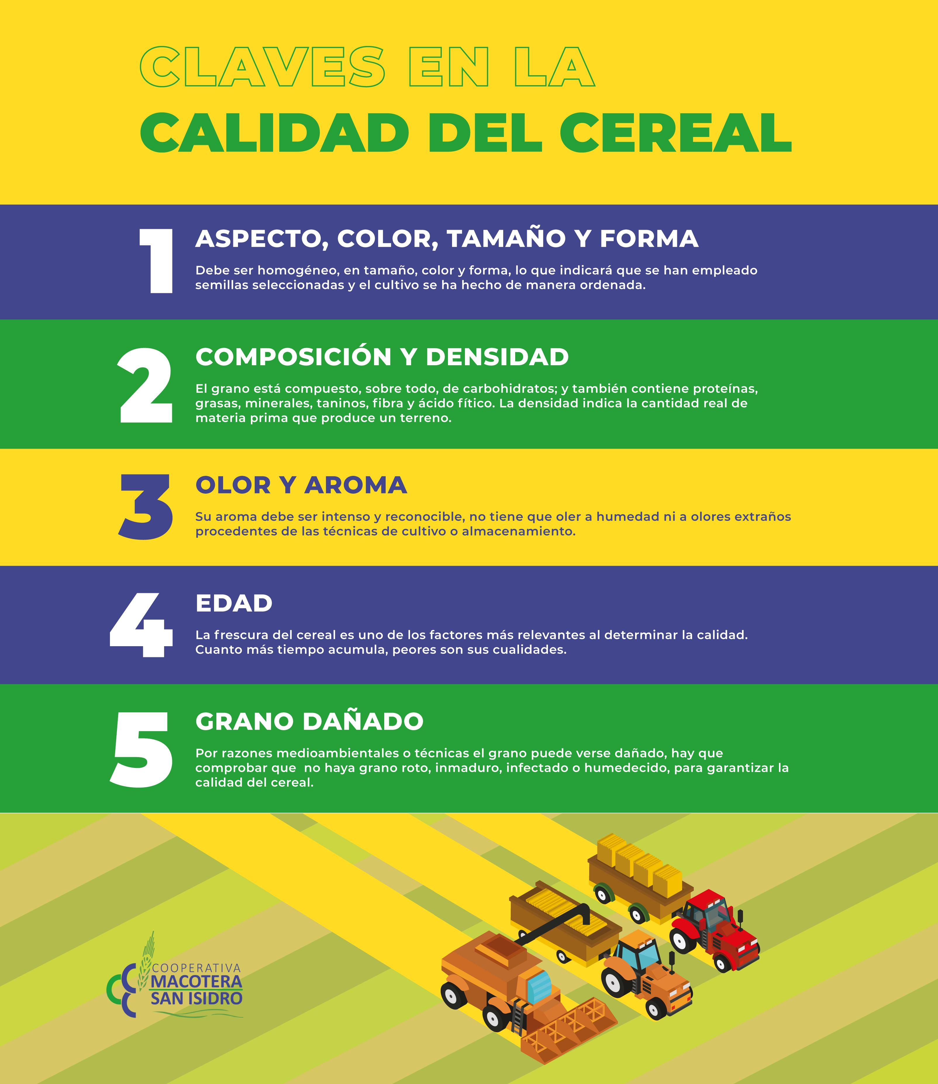 Claves en la Calidad del Cereal