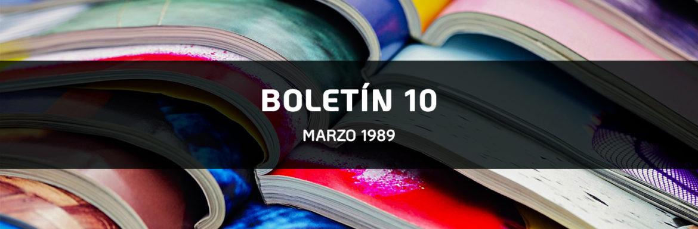 Boletin-10 - Marzo 1989